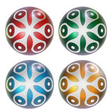Four abstract ball Royalty Free Stock Images