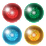 Four abstract ball Stock Photography