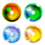 Four abstract ball Stock Photo