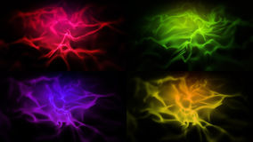 Four Abstract Wave backgrounds Royalty Free Stock Photography