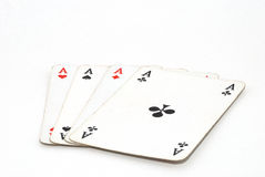 Four ace Stock Images