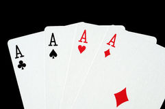 Four ace Stock Image