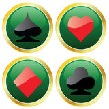 Four Aces royalty free illustration
