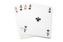 Free Four Aces Stock Photography - 1388652
