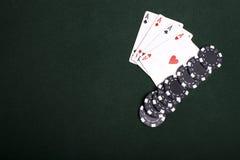 Free Four Aces Stock Photos - 14040363