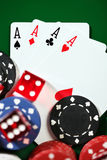 Four aces Stock Images