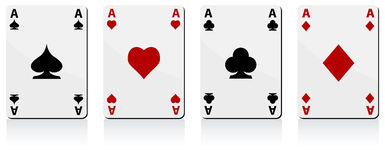 Four Aces Royalty Free Stock Photo