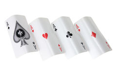 Four Aces Royalty Free Stock Photo