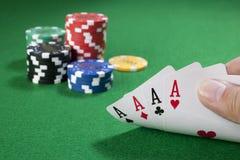 Free Four Aces Stock Photos - 22907823