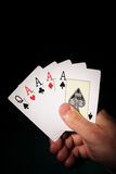 Four aces Royalty Free Stock Photography