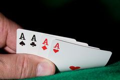 Free Four Aces Royalty Free Stock Image - 4749596