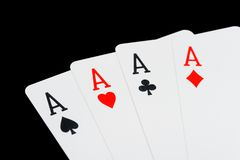 Free Four Aces Royalty Free Stock Image - 7137476