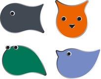 Four animals Royalty Free Stock Image