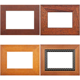 Four antique picture frames Royalty Free Stock Image