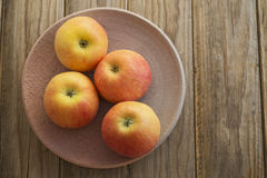 Four apples Royalty Free Stock Photos