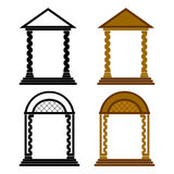 Four arches. Stock Photography