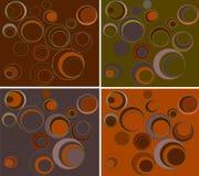 Four backgrounds Stock Photos