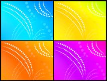 Four backgrounds Royalty Free Stock Photos