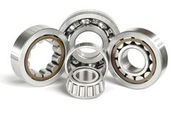 Four ball bearings Royalty Free Stock Photos