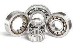 Four ball bearings royalty free stock photos
