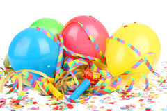 Four ballons carnival Royalty Free Stock Photography