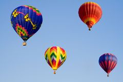 Four Balloons Royalty Free Stock Photos