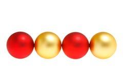 Four balls Stock Photography