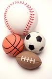 Four balls Stock Image