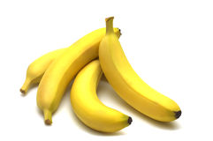 Four banana Royalty Free Stock Photos