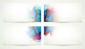 Free Four Banners. Royalty Free Stock Photos - 53190148
