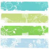 Four banners - vector set vector illustration