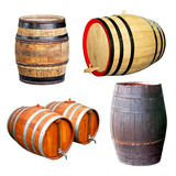 Four barrels royalty free stock photography