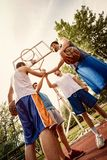 Dream Team Of Basketball Players stock photo