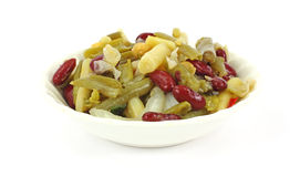 Four bean salad Stock Photo