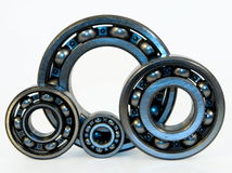 Four bearings Royalty Free Stock Images