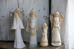 Four  beauty Angels Royalty Free Stock Image