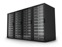 Four big server Stock Images