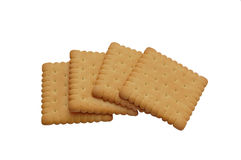 Four biscuits Royalty Free Stock Photography