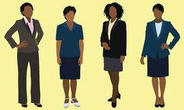 Black Business Women Stock Images