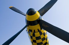 Four Blade Propeller Stock Image