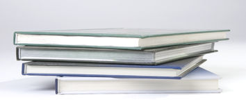 Four Blank book cover Stock Photography