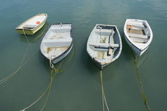 Four boats Royalty Free Stock Image