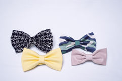 Four bow ties Royalty Free Stock Photos