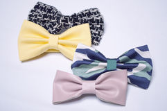 Four bow ties Stock Photos