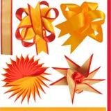 Four bows. Royalty Free Stock Photos
