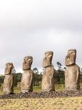 Four boys of Akivi Royalty Free Stock Image