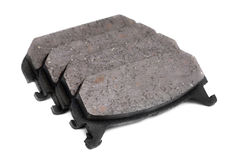 Four brake pads Royalty Free Stock Photo