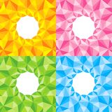 Four bright abstract background Royalty Free Stock Photo