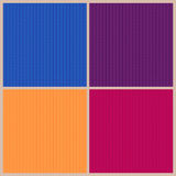 Four bright knitted backgrounds. Royalty Free Stock Image