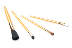 Are four brushes makeup Stock Photo